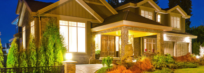 Landscape lighting services from your local electrician contact us landscaping lighting services aloadofball Gallery